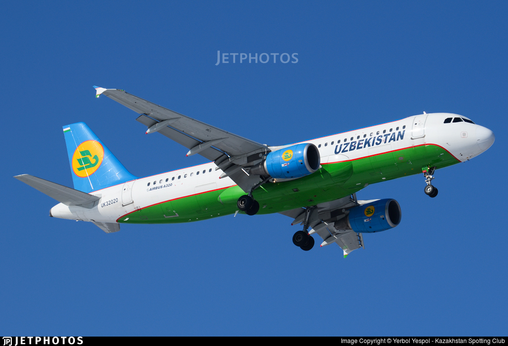 UK32020 - Airbus A320-214 - Uzbekistan Airways