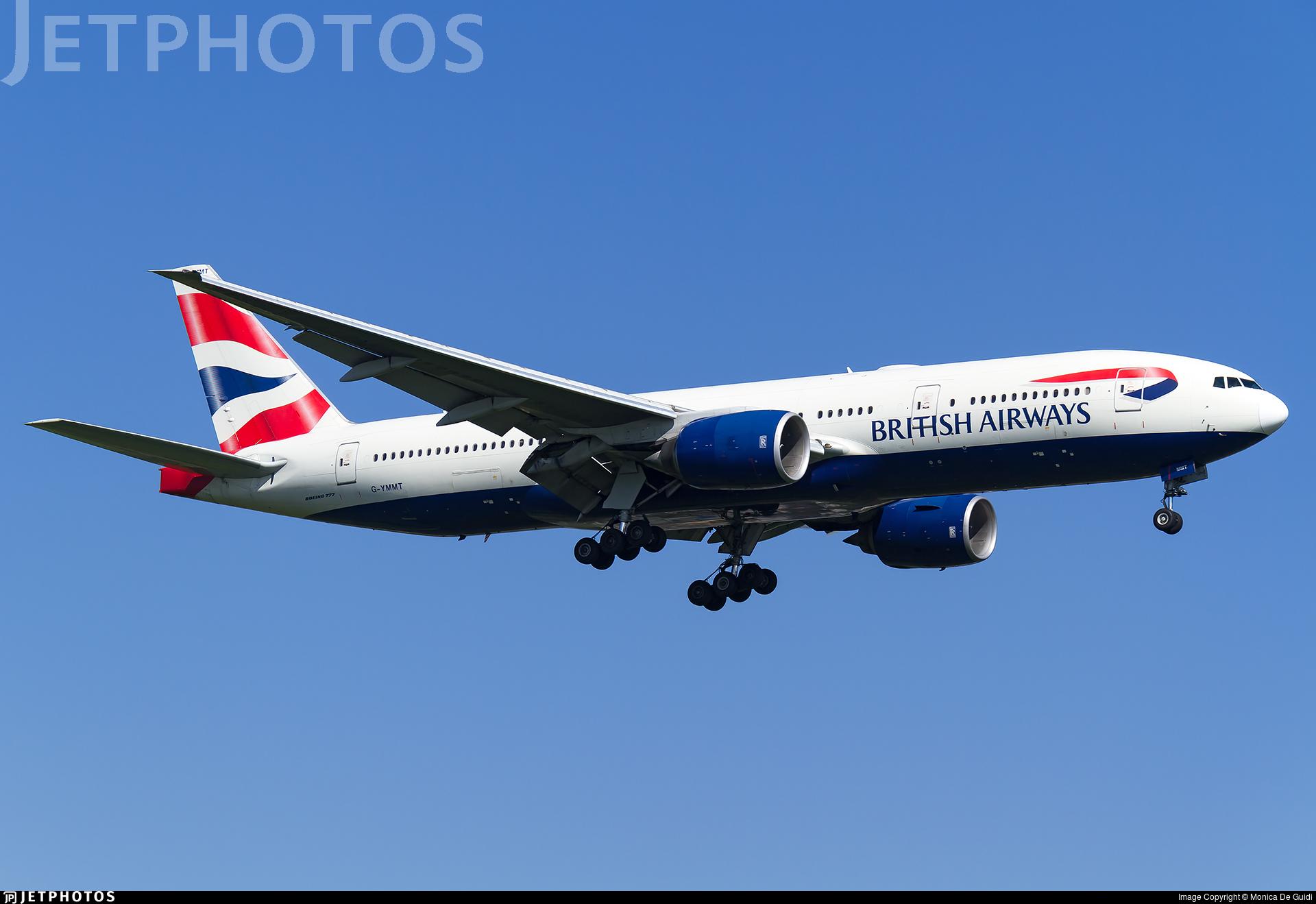 G-YMMT - Boeing 777-236(ER) - British Airways