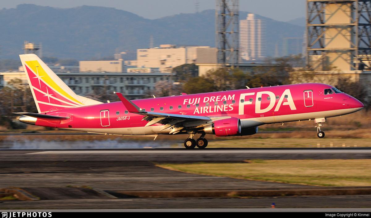 JA15FJ - Embraer 170-200STD - Fuji Dream Airlines