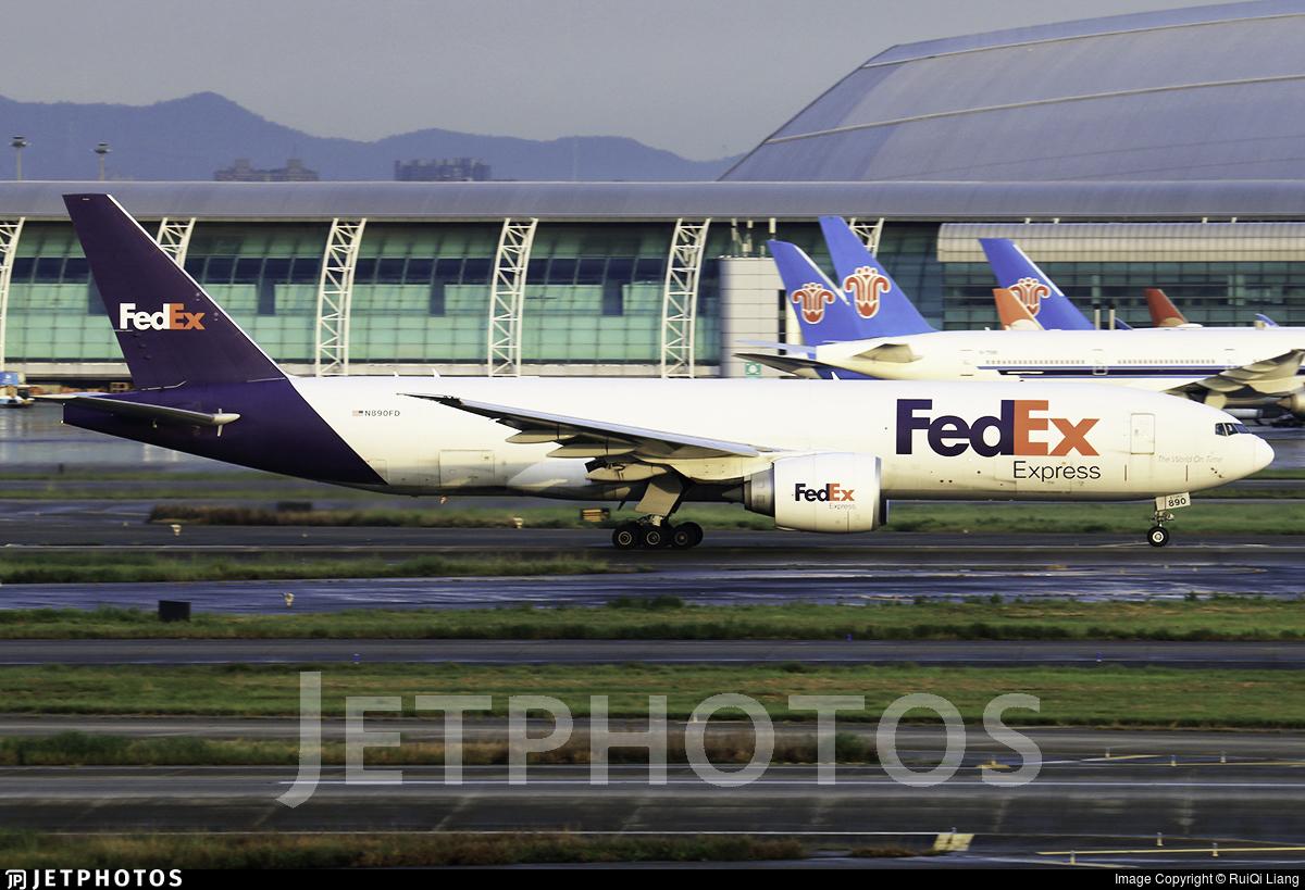 N890FD - Boeing 777-FS2 - FedEx