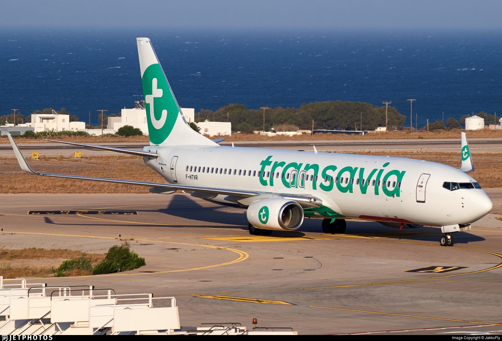 F-HTVR - Boeing 737-86J - Transavia France
