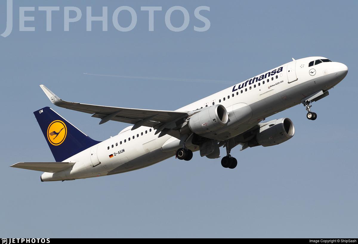 D-AIUM - Airbus A320-214 - Lufthansa