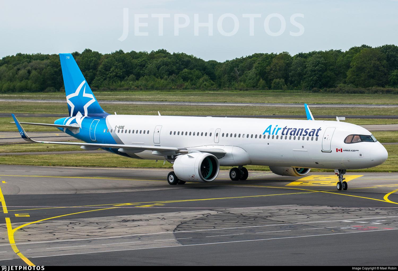 C Goie Airbus A321 271nx Air Transat Mael Robin Jetphotos