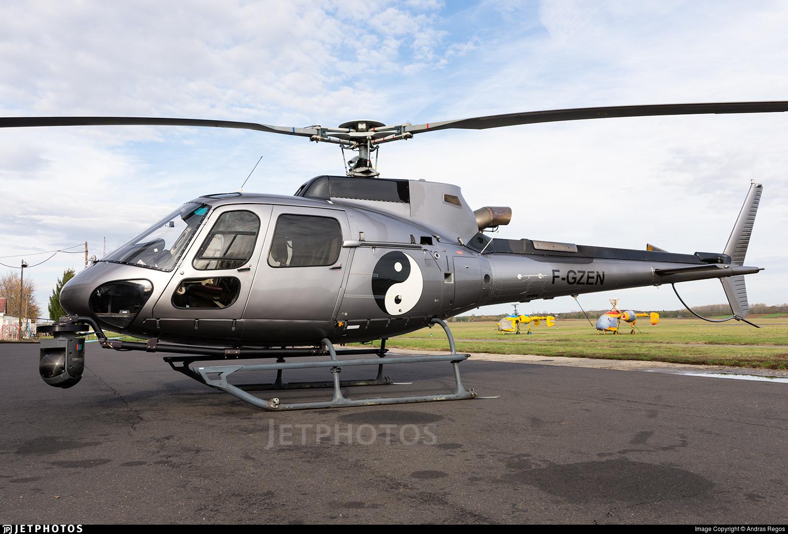 F-GZEN - Eurocopter AS 350B3 Ecureuil - Private