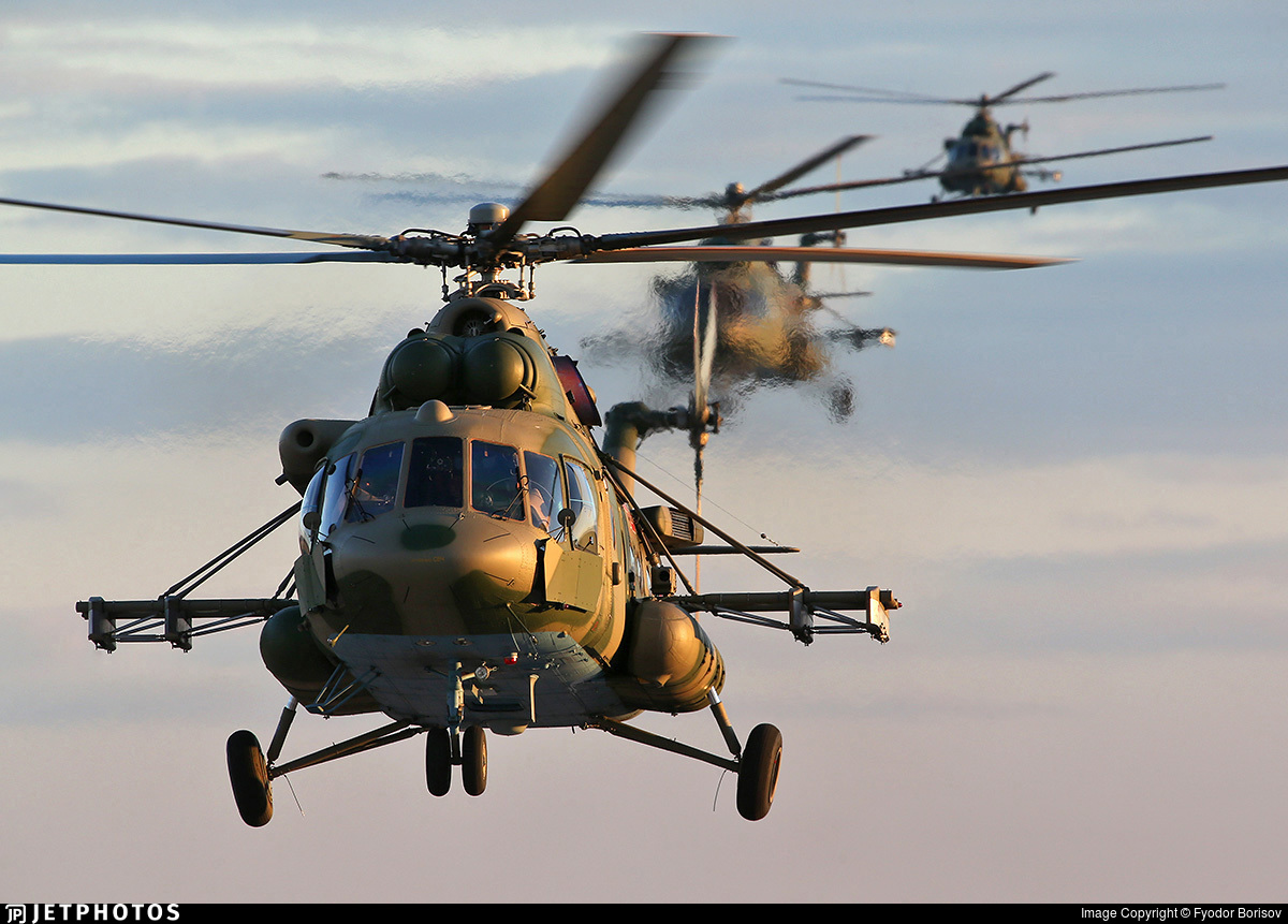 RF-24777 - Mil Mi-8AMTSh Hip - Russia - Air Force