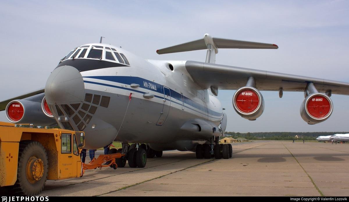 RF-86902 - Ilyushin IL-76MD - Russia - Air Force