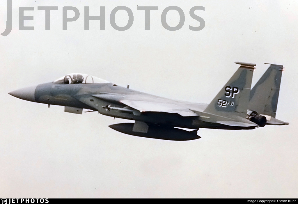 80-0052 - McDonnell Douglas F-15C Eagle - United States - US Air Force (USAF)