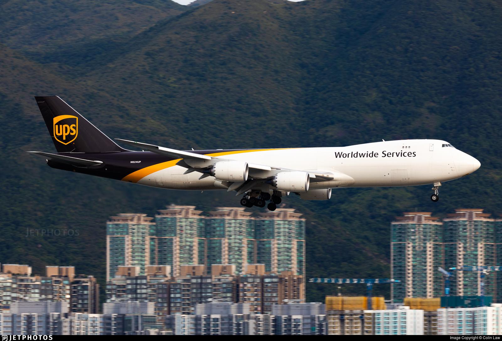 N624UP - Boeing 747-84AF - United Parcel Service (UPS)