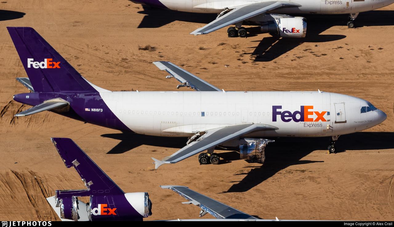 N816FD - Airbus A310-304(F) - FedEx