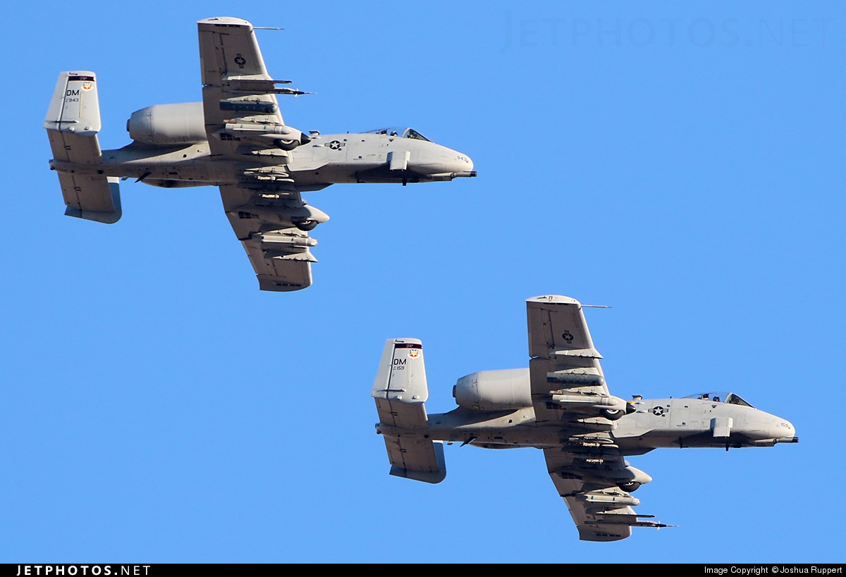 80-0159 - Fairchild A-10C Thunderbolt II - United States - US Air Force (USAF)