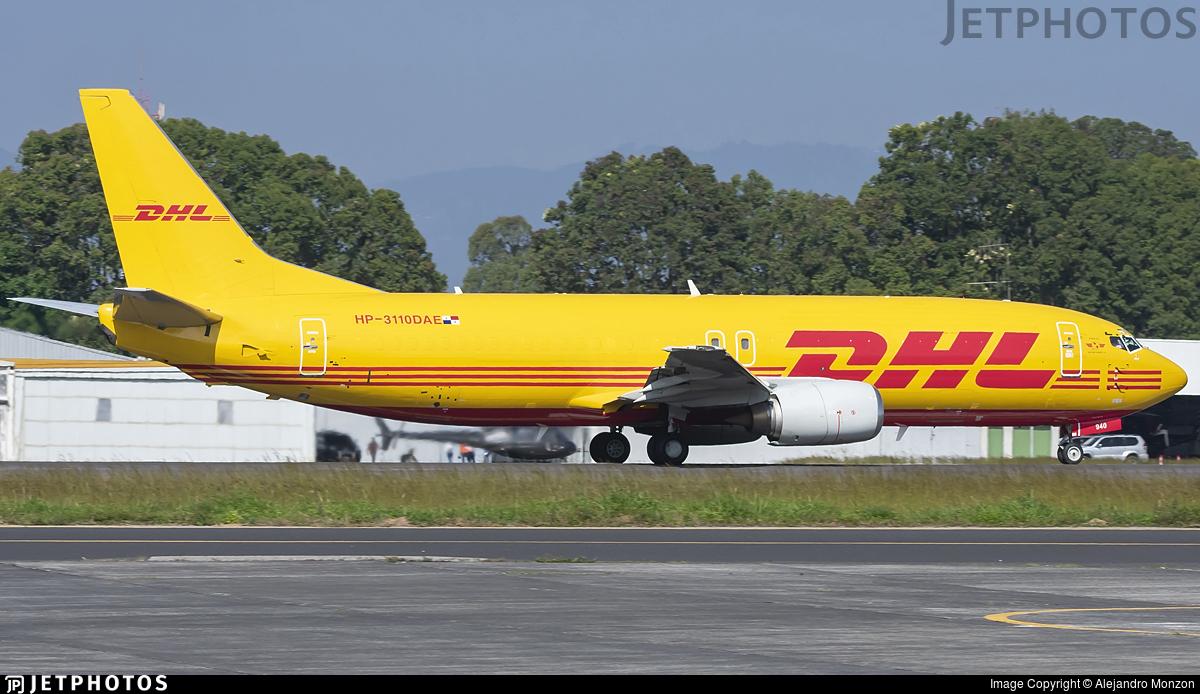 HP-3110DAE - Boeing 737-4Q3(SF) - DHL Aero Expreso