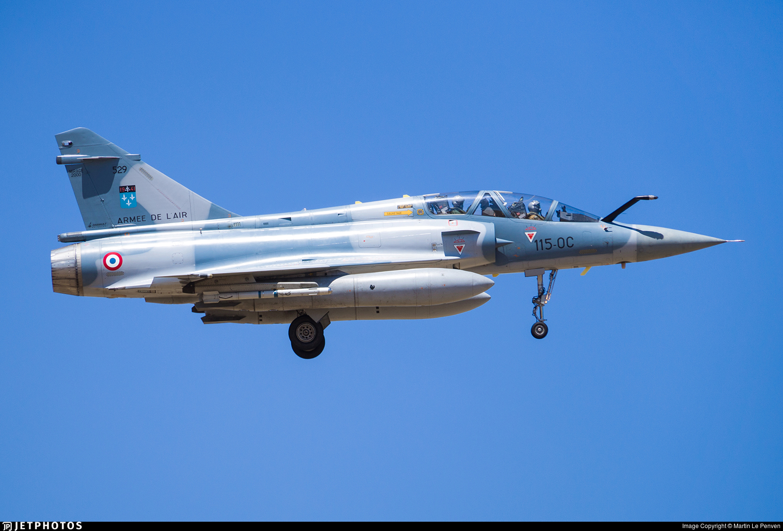 529 - Dassault Mirage 2000B - France - Air Force