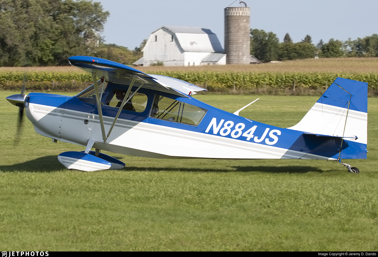 N884JS - Bellanca 7GCAA Citabria - Private