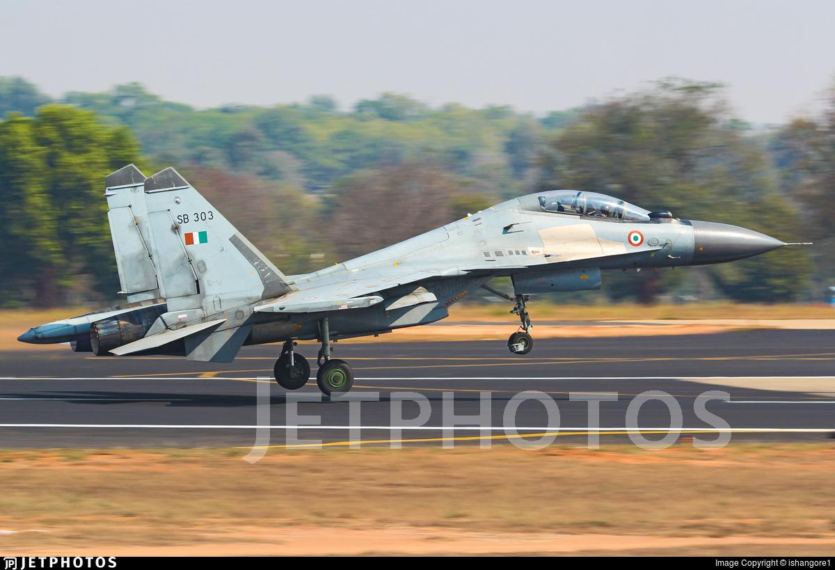SB303 - Sukhoi Su-30MKI - India - Air Force