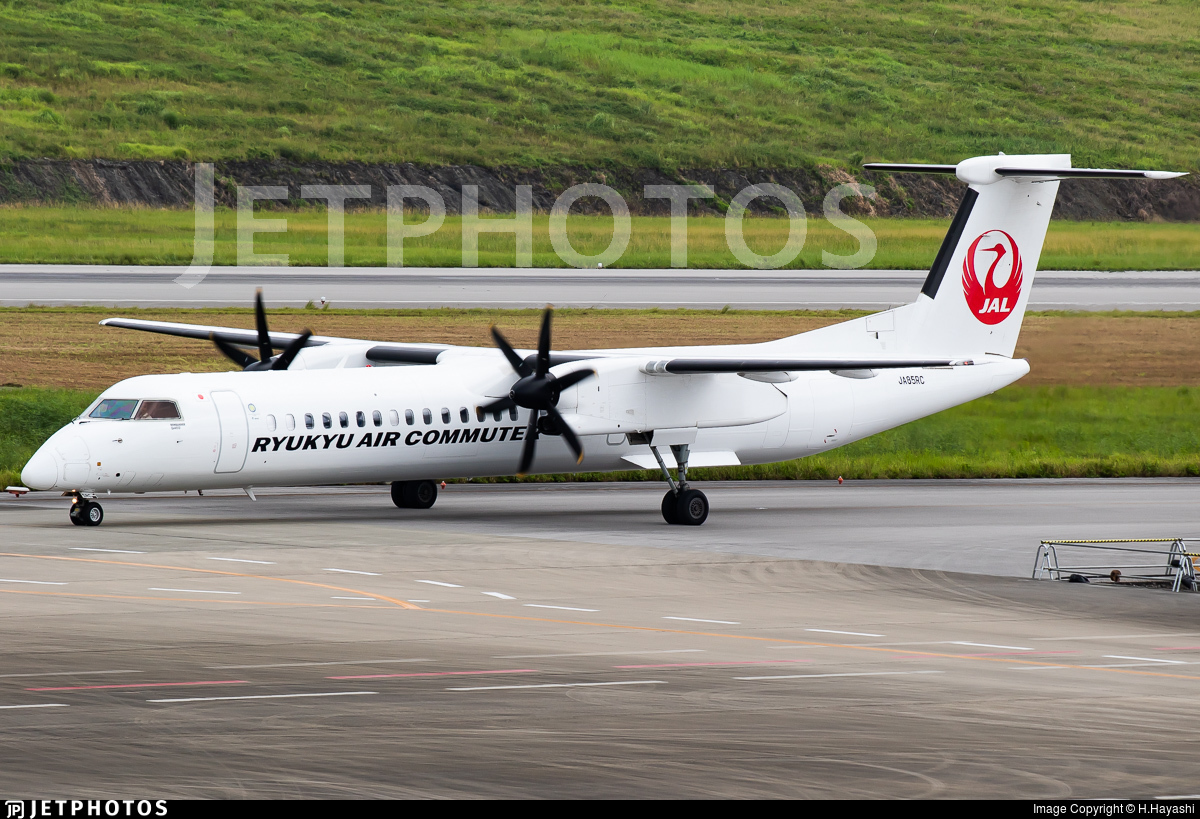 JA85RC - Bombardier Dash 8-Q402C - Ryukyu Air Commuter (RAC)