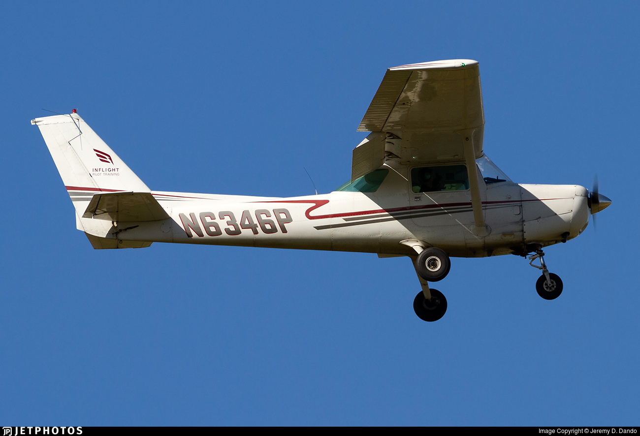 N6346P - Cessna 152 - Inflight Pilot Training