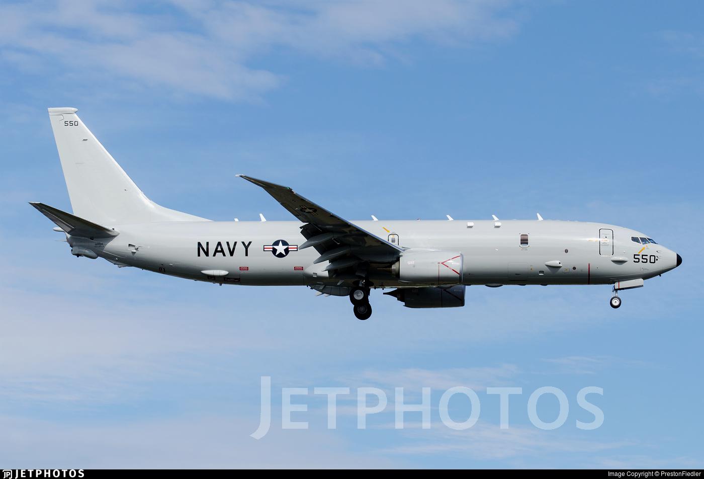 169550 - Boeing P-8A Poseidon - United States - US Navy (USN)