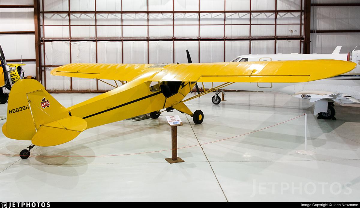 N6839H - Piper J-3C-65 Cub - Private