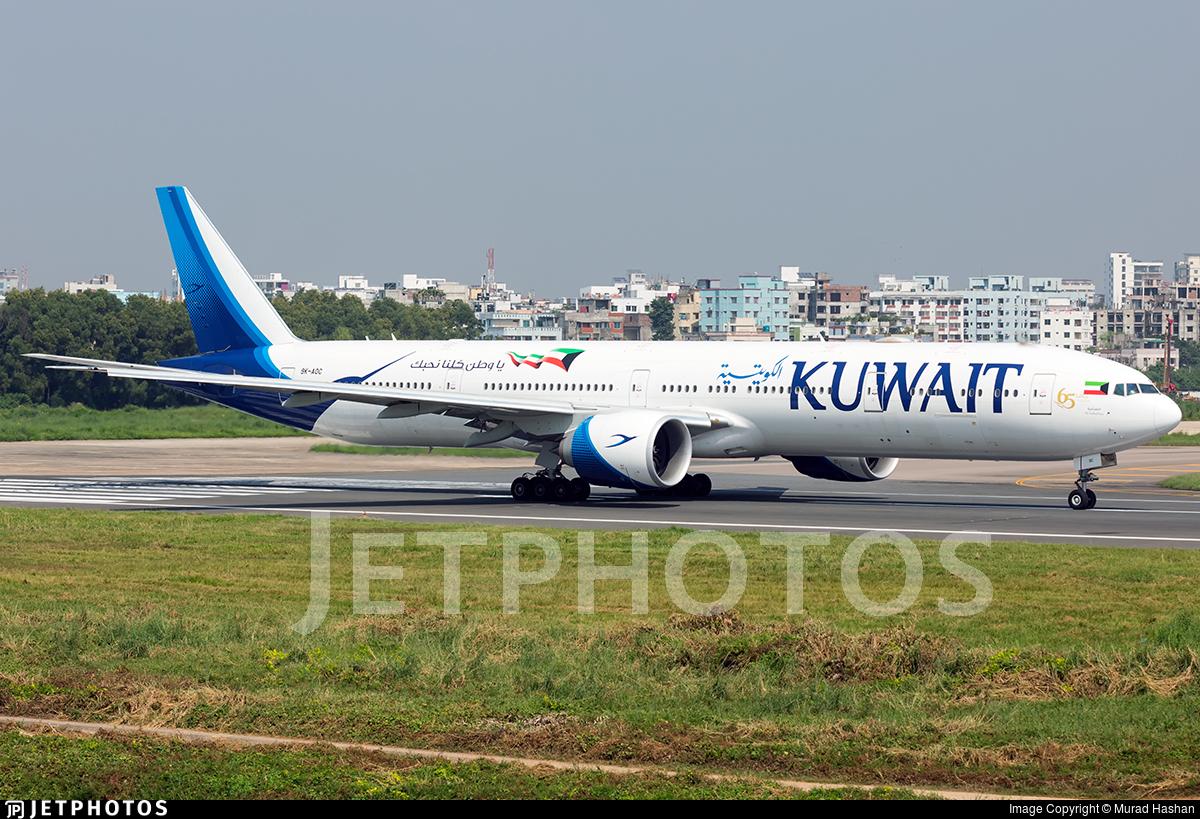 9K-AOC - Boeing 777-369ER - Kuwait Airways
