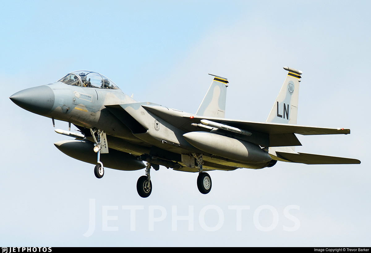 84-0046 - McDonnell Douglas F-15D Eagle - United States - US Air Force (USAF)