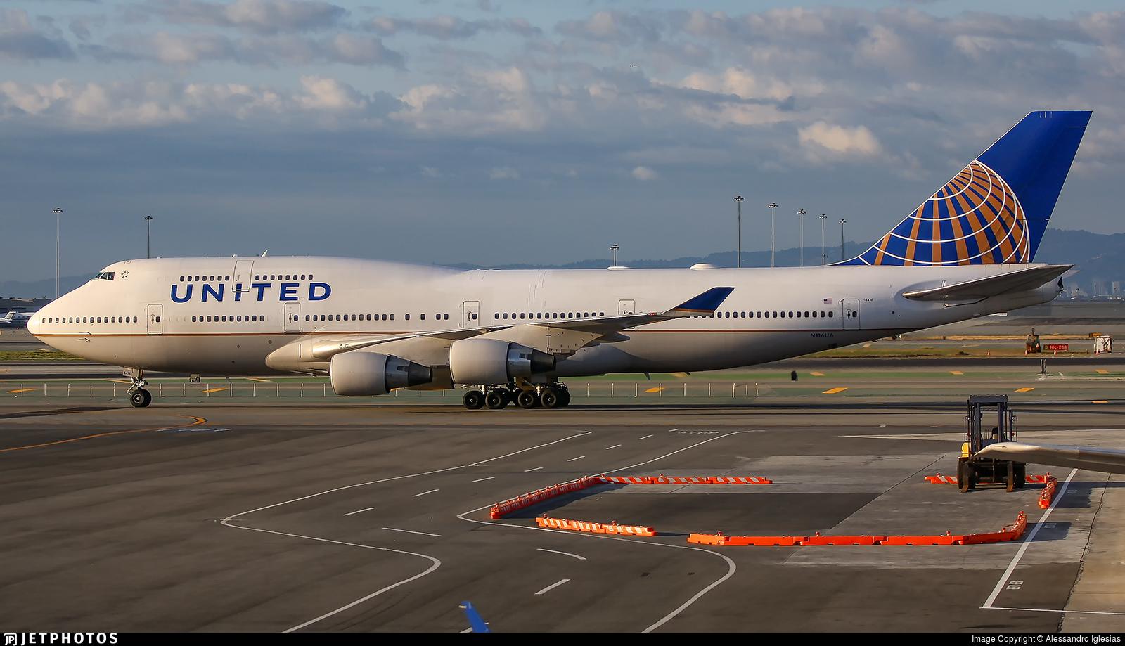 N116UA - Boeing 747-422 - United Airlines