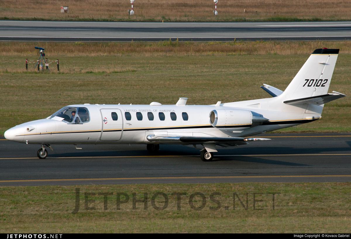 97-00102 - Cessna UC-35A Citation Ultra - United States - US Air Force (USAF)