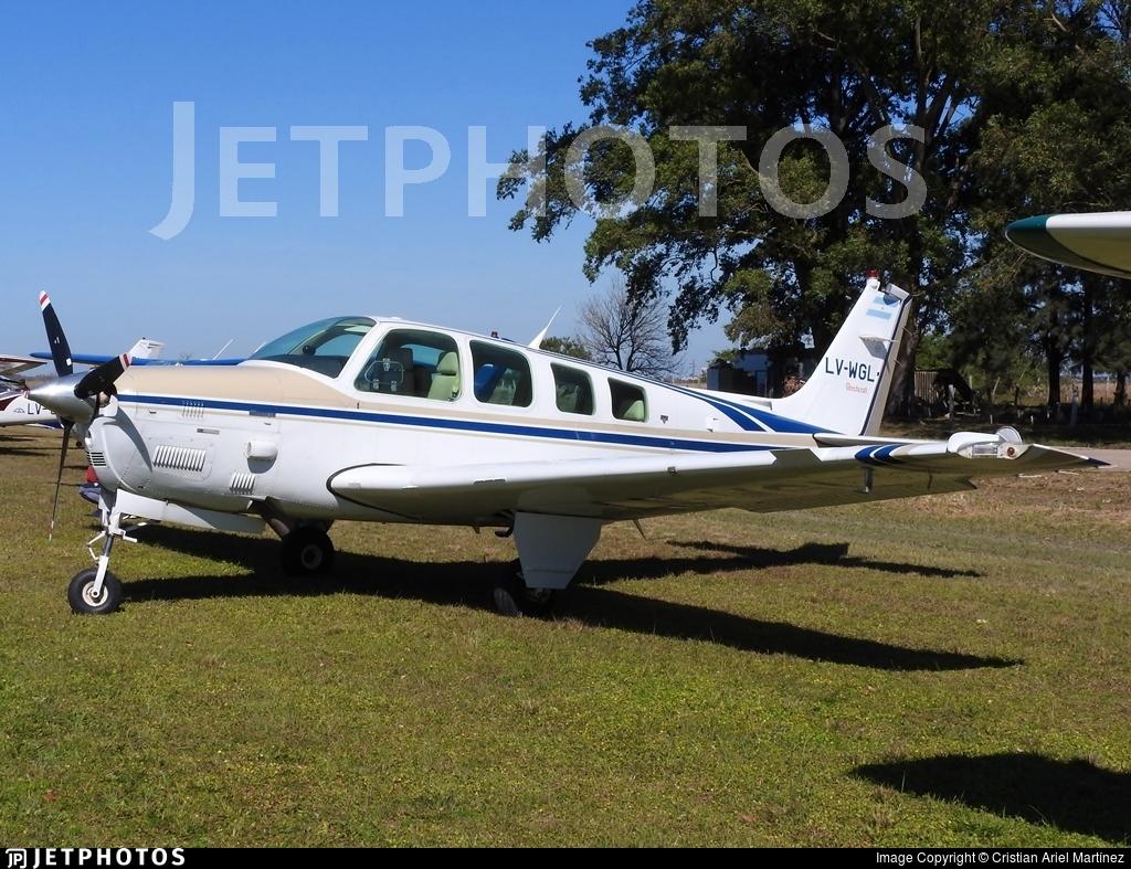 LV-WGL - Beechcraft B36TC Bonanza - Private