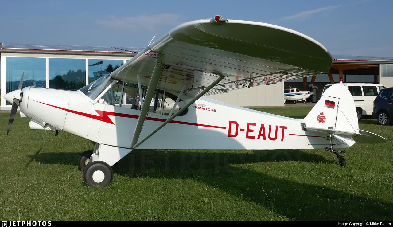 D-EAUT - Piper PA-18-150 Super Cub - Private