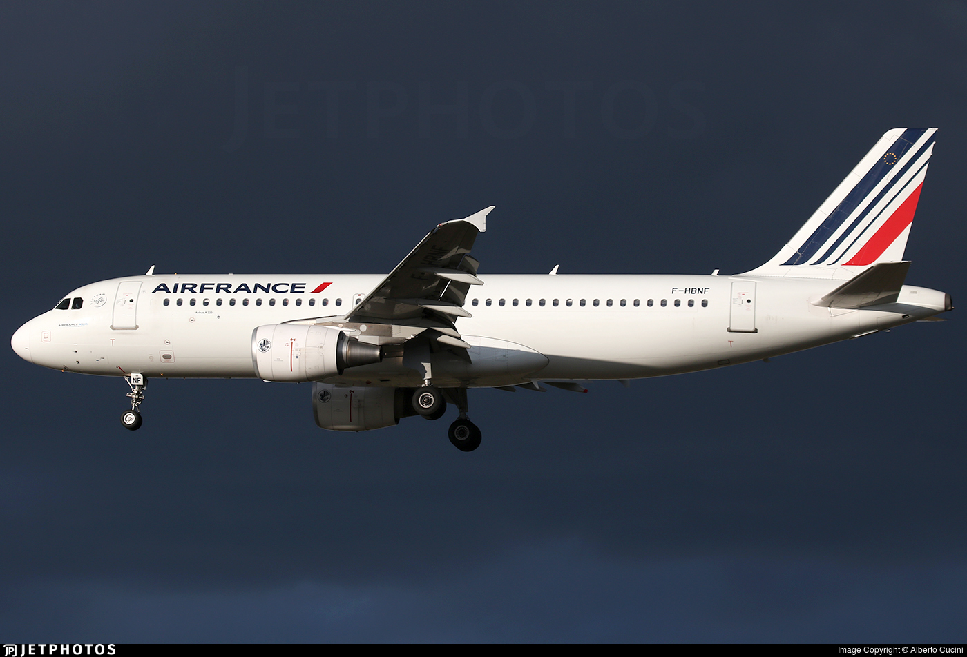 F-HBNF - Airbus A320-214 - Air France