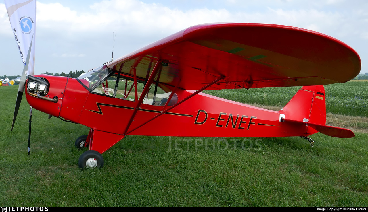 D-ENEF - Piper J-3C-65 Cub - Private