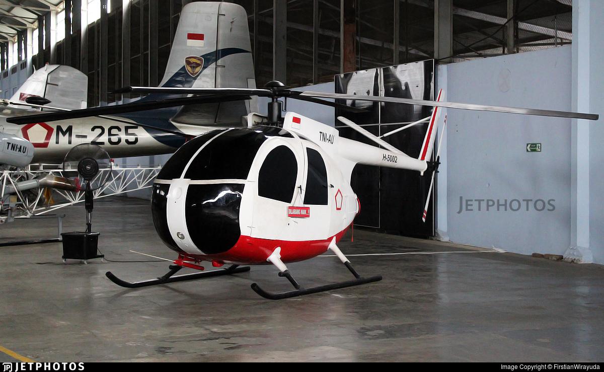 H-5002 - Hughes 500C - Indonesia - Air Force