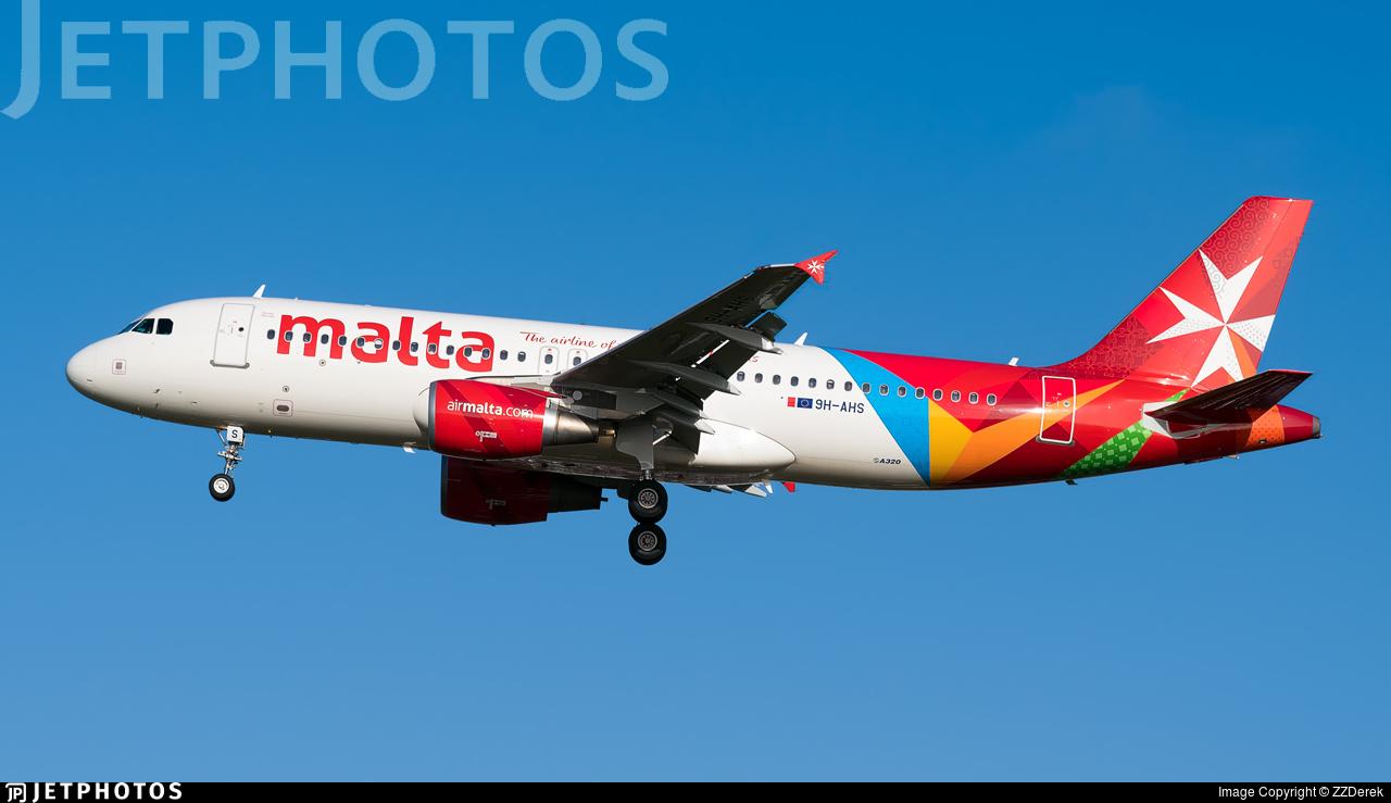 9H-AHS - Airbus A320-214 - Air Malta