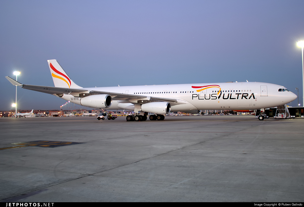 A9C-LG - Airbus A340-313X - Plus Ultra Líneas Aéreas