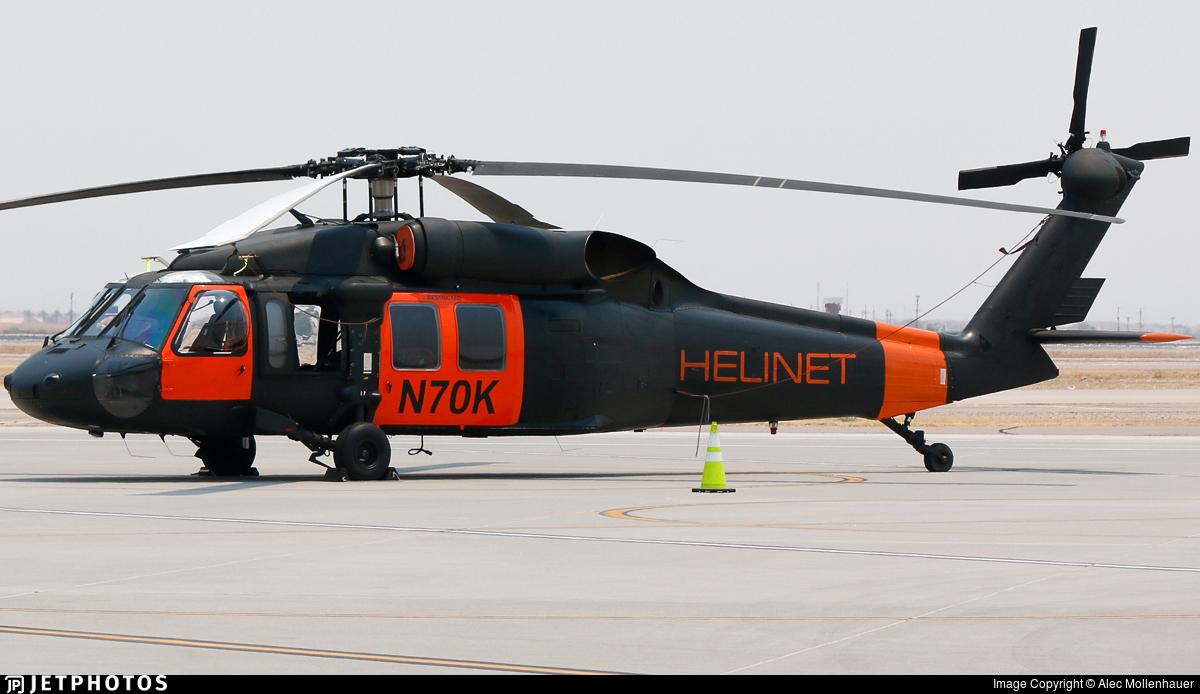 N70K - Sikorsky UH-60A Blackhawk - Helinet Aviation