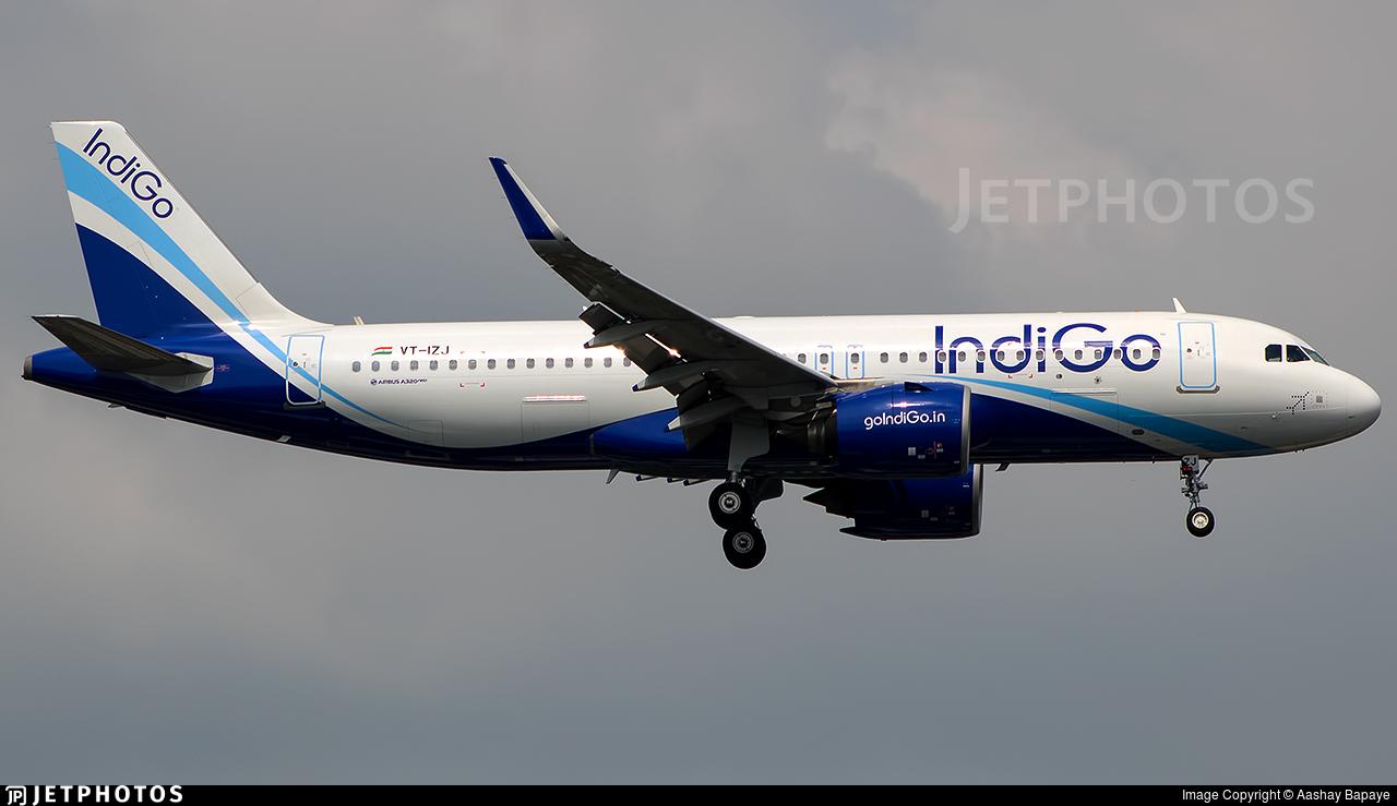 VT-IZJ - Airbus A320-271N - IndiGo Airlines