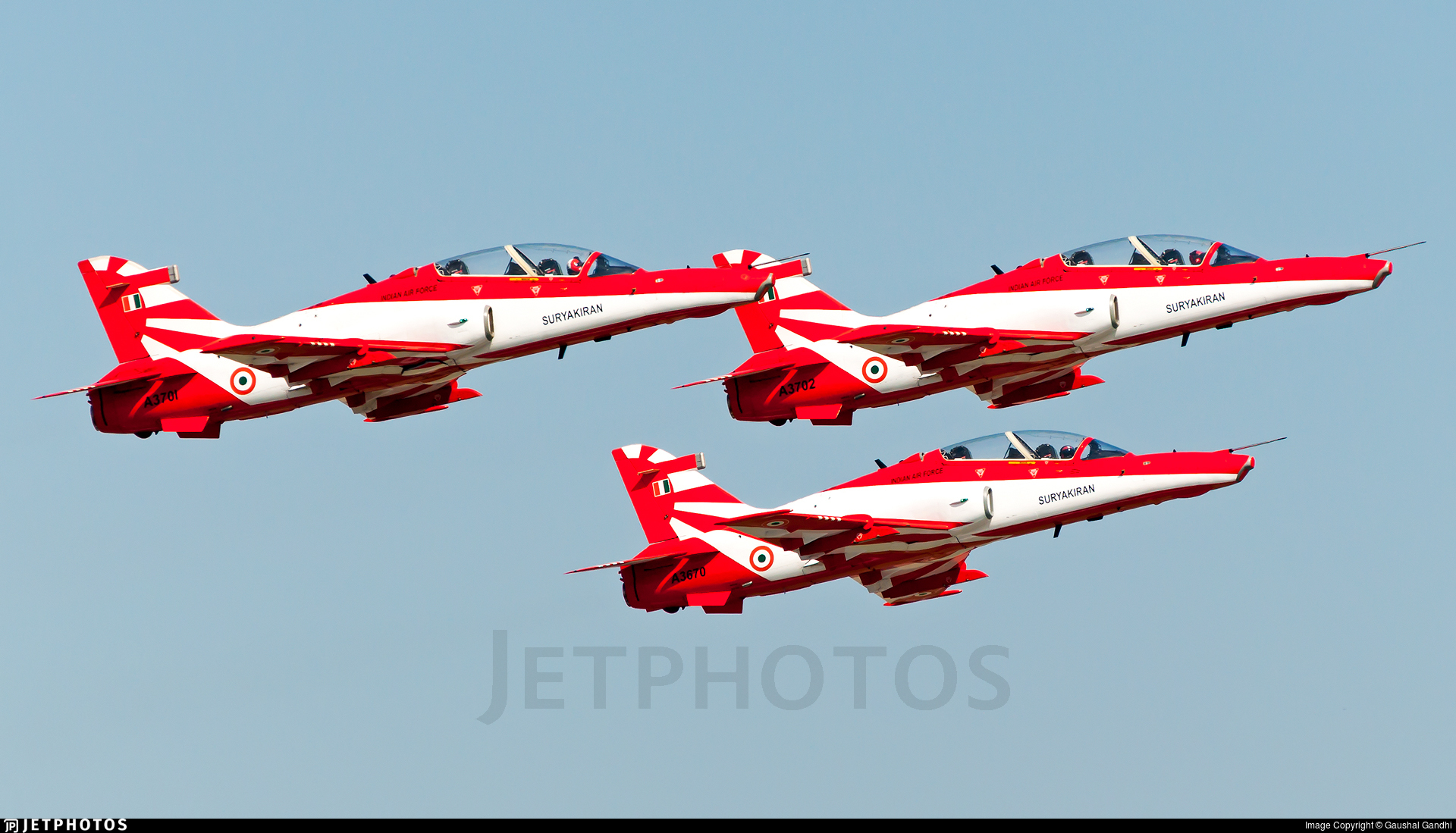 A3702 - British Aerospace Hawk Mk.132 - India - Air Force