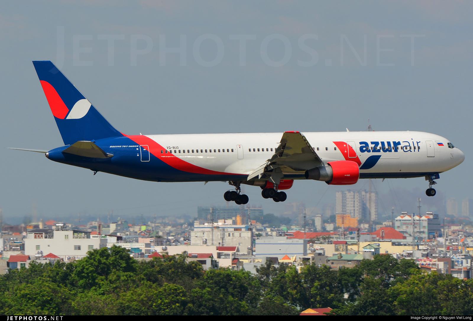 VQ-BUO - Boeing 767-33A(ER) - Azur Air