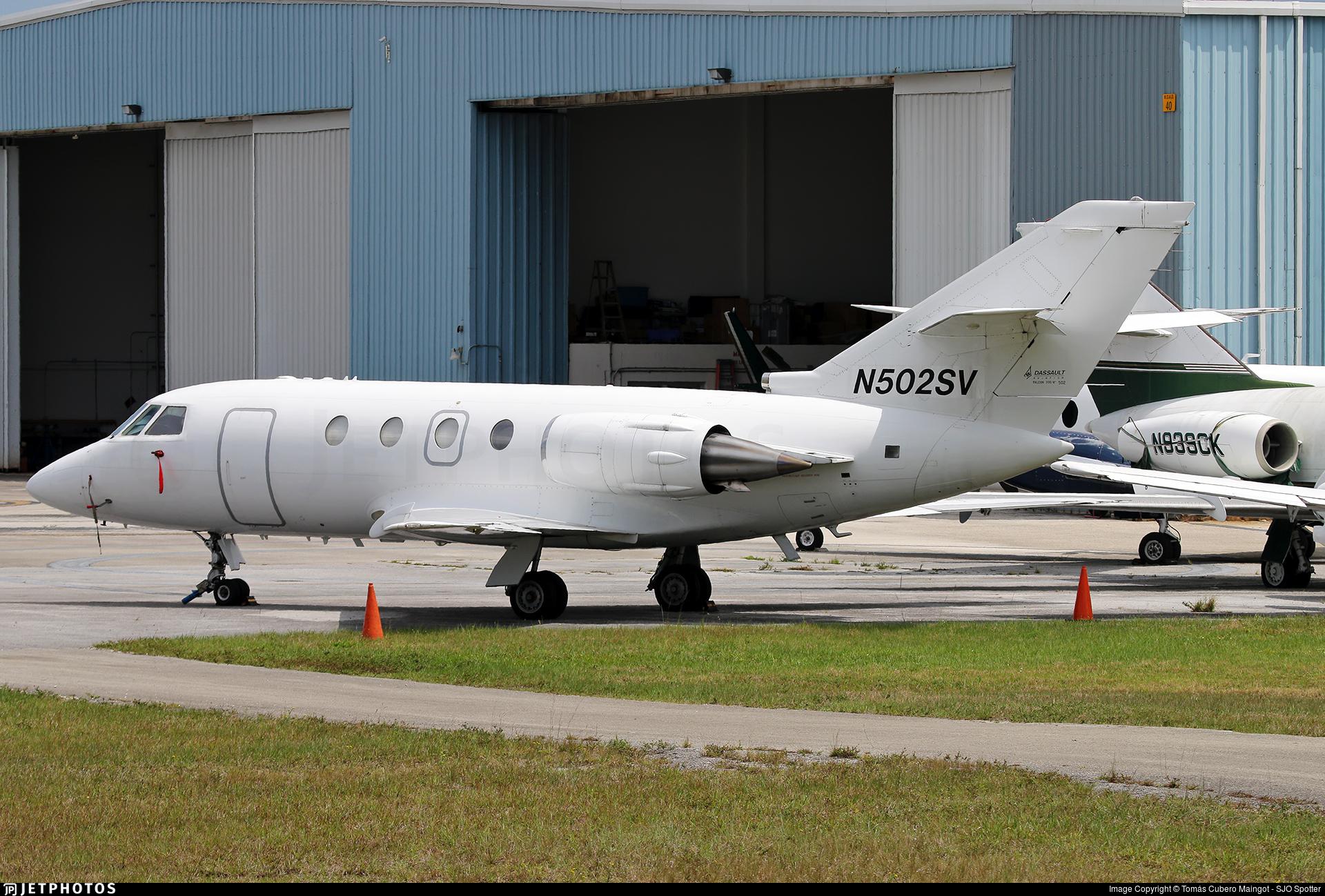 N502SV - Dassault Falcon 200 - Private