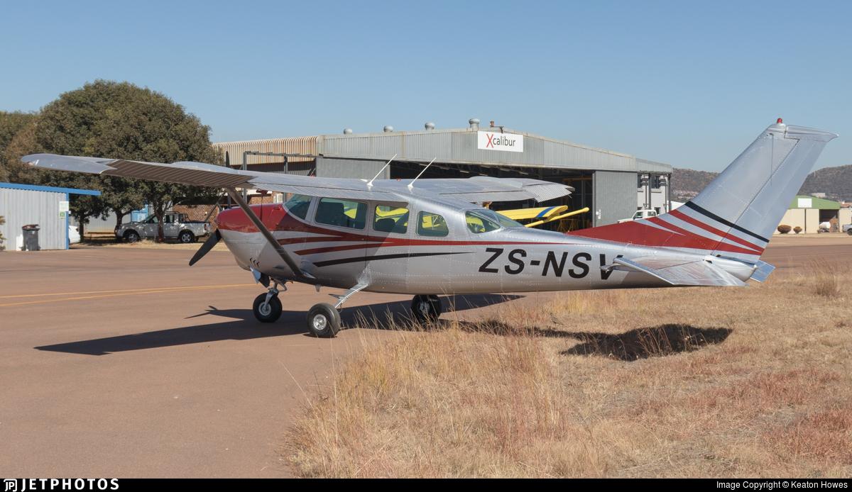 ZS-NSV - Cessna U206D Super Skywagon - Private
