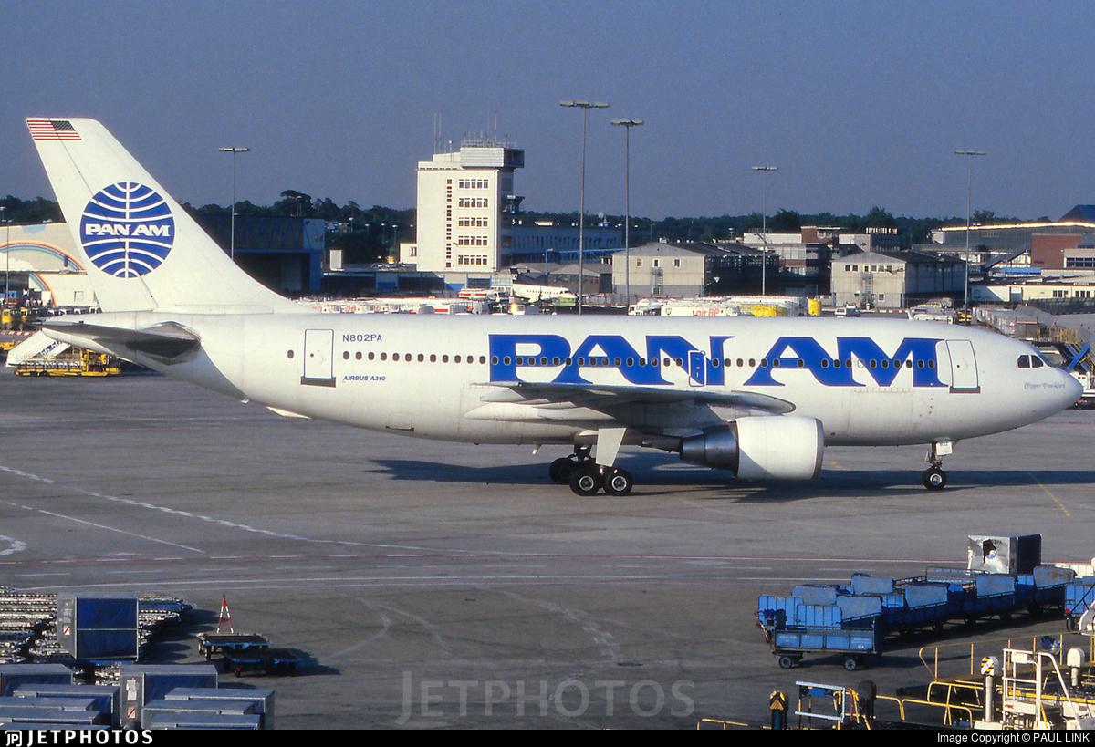 N802PA - Airbus A310-222 - Pan Am