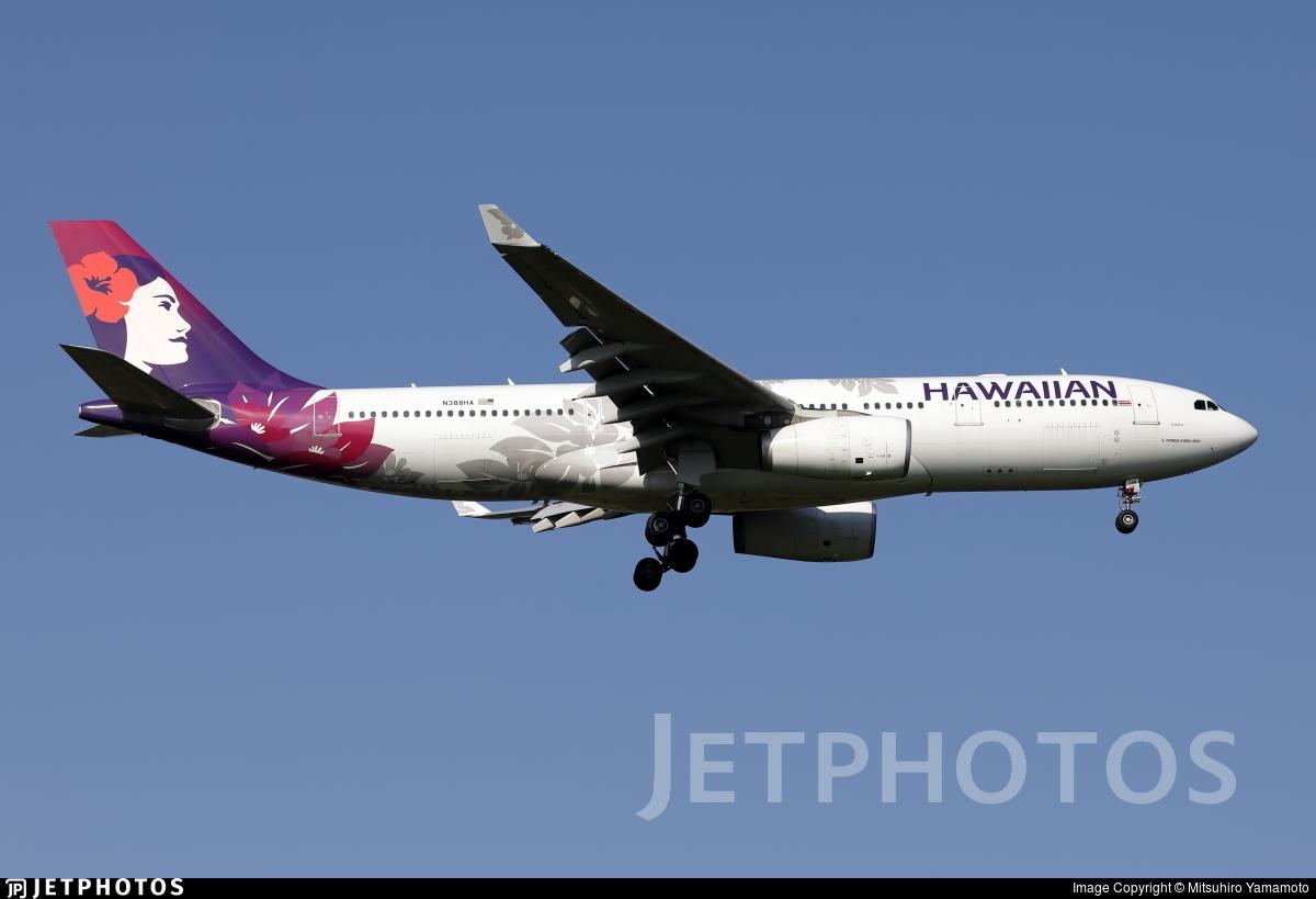N388HA - Airbus A330-243 - Hawaiian Airlines