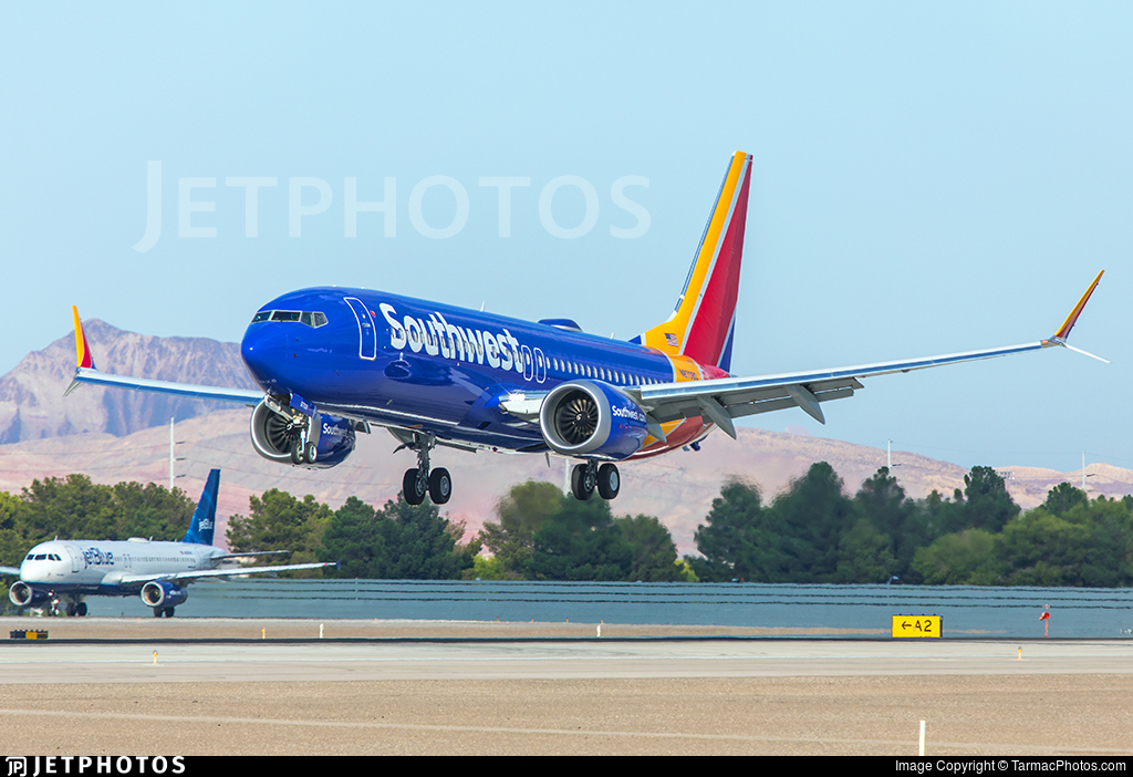 N8708Q - Boeing 737-8 MAX - Southwest Airlines