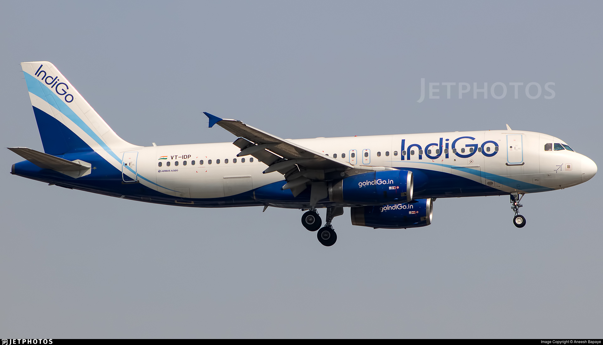 VT-IDP - Airbus A320-232 - IndiGo Airlines
