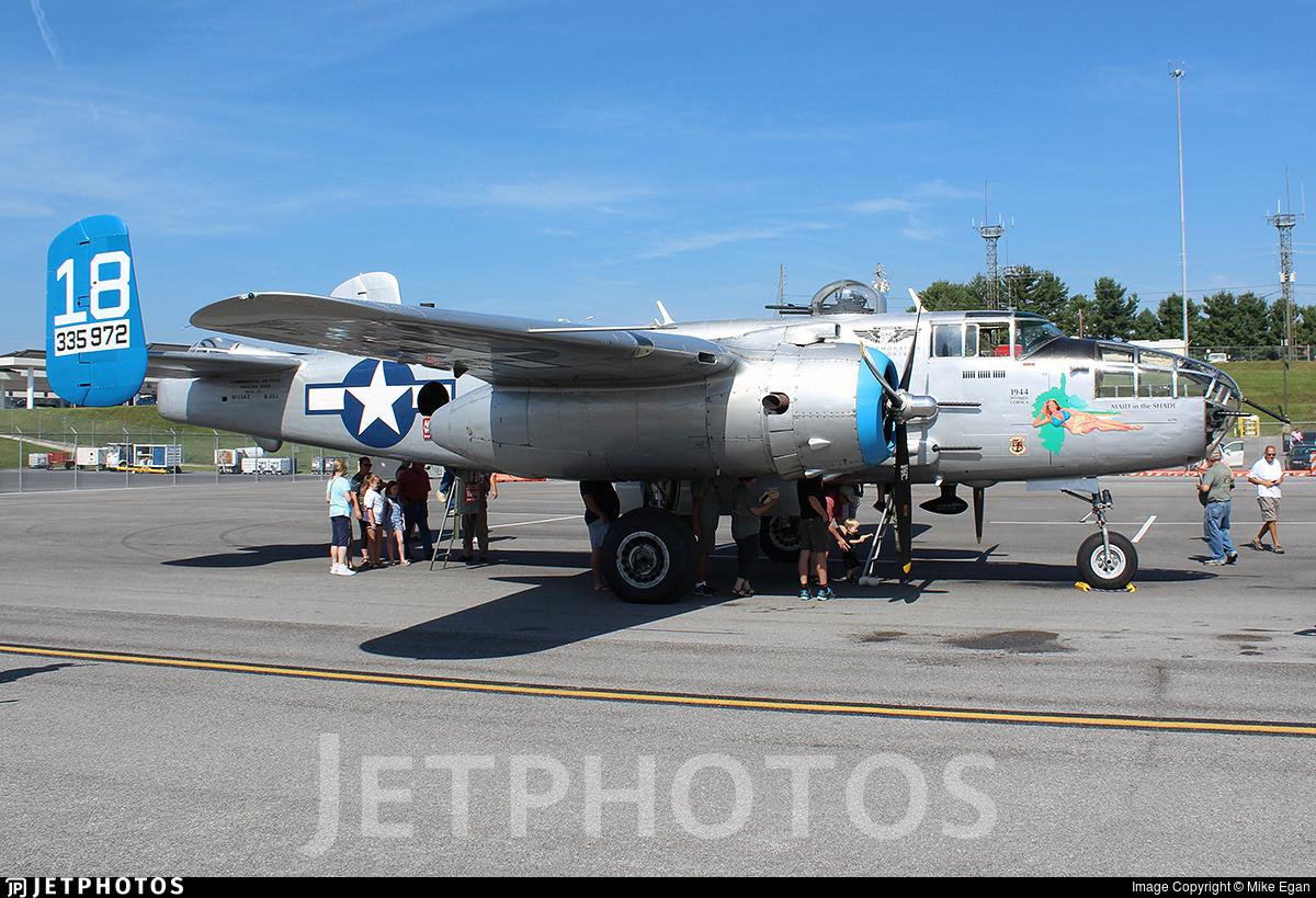 N125AZ - North American B-25J Mitchell - Commemorative Air Force