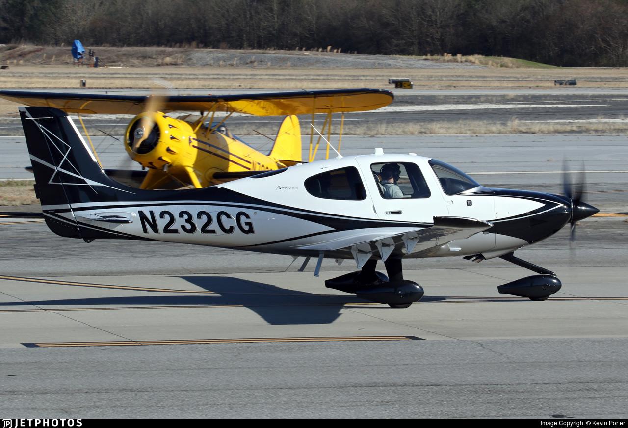 N232CG - Cirrus SR22T-GTS G6 Arrivee - Private