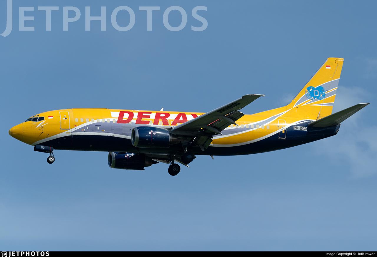 PK-DGO - Boeing 737-33V(SF) - Deraya Air Taxi