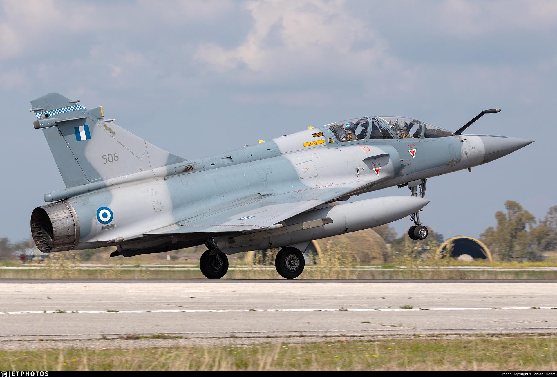 506 - Dassault Mirage 2000-5BG - Greece - Air Force