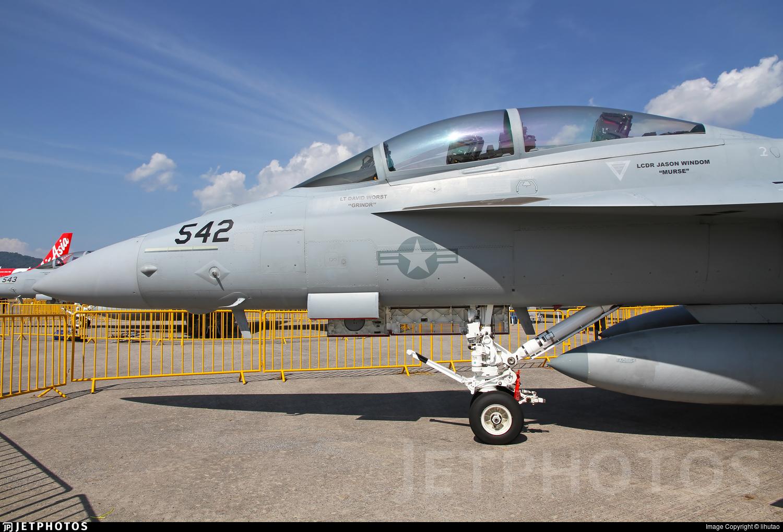 169142 - Boeing EA-18G Growler  - United States - US Navy (USN)