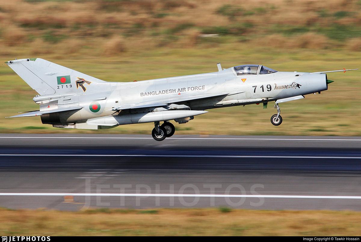 2719 - Chengdu F-7BGI - Bangladesh - Air Force
