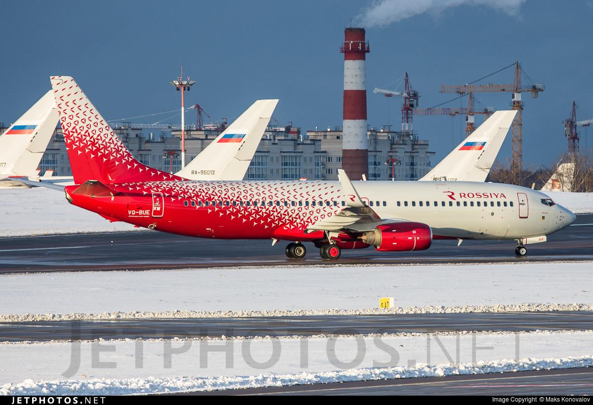 VQ-BUE - Boeing 737-8GJ - Rossiya Airlines